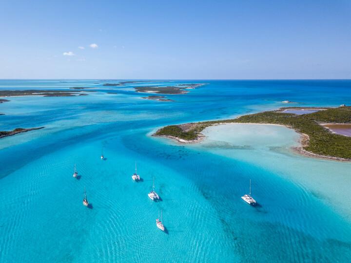 Sailing holidays in the Bahamas