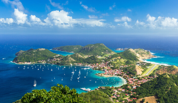 Sailing holidays in Guadeloupe