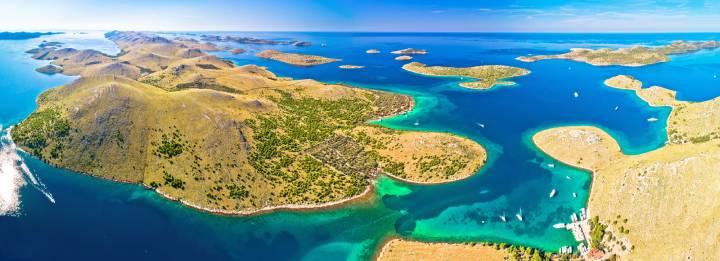 Sailing the Kornati islands