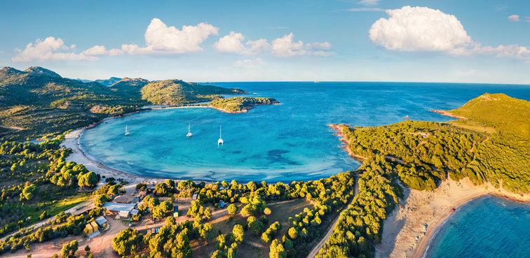 Sailing Corsica