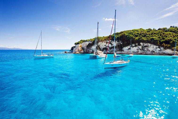 Sailing Corfu, Greece