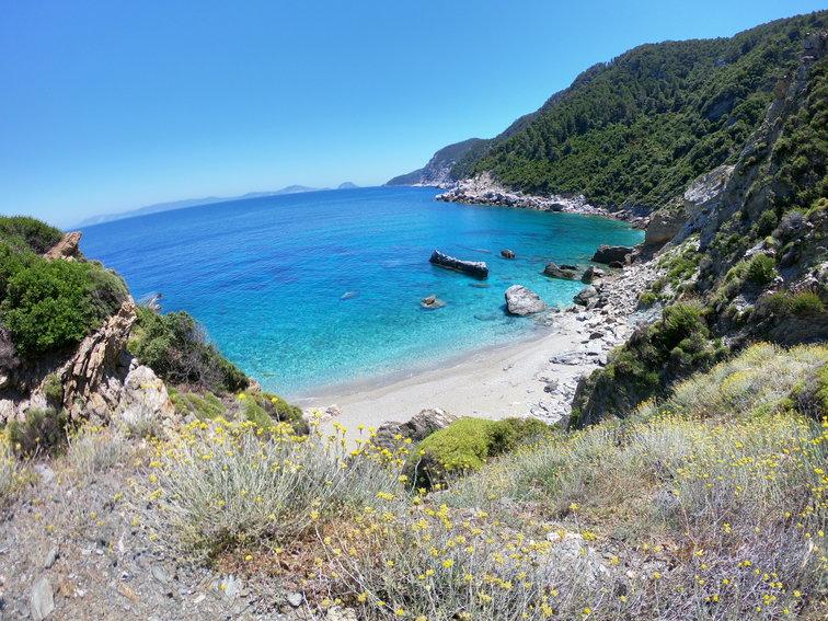 sailing holidays in Skopelos, Greece
