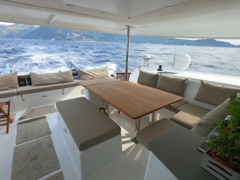Saba 50 catamaran in Sicily, Italy